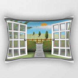 A Summers View Rectangular Pillow