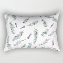 Lavender, Illustration Rectangular Pillow