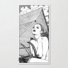 asc 702 - La sorcière (A New England folktale) Canvas Print