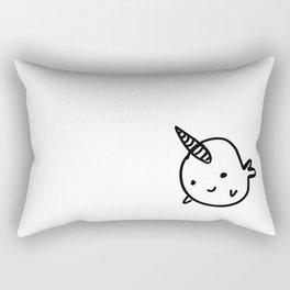 BIG BUDDY NARWHAL Rectangular Pillow