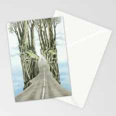 Escape attempt Stationery Cards