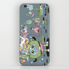 Never Stop iPhone & iPod Skin