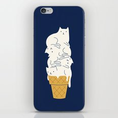 Meowlting iPhone Skin