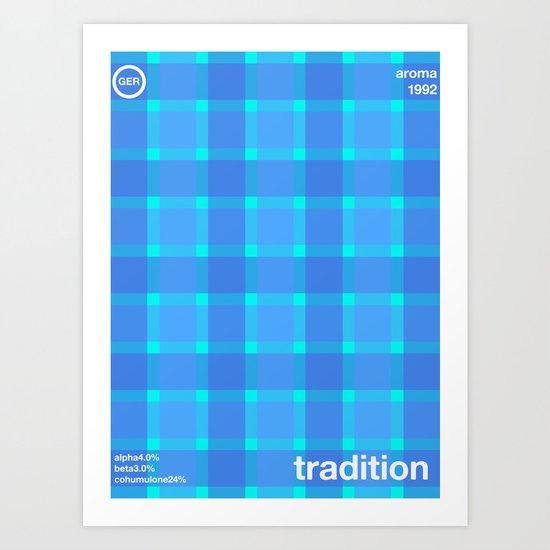 tradition single hop Art Print