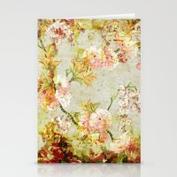 climbing Stationery Cards featuring climbing flowers by clemm