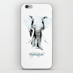 elephantidae iPhone & iPod Skin