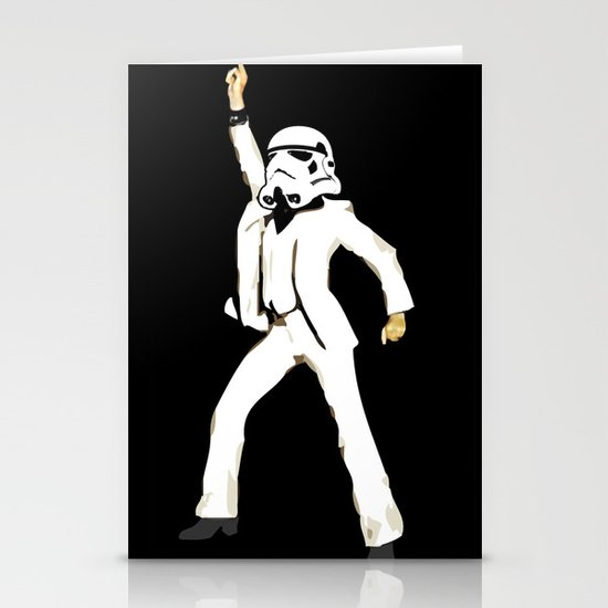 saturday night trooper _ star wars Stationery Cards