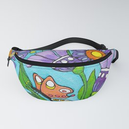 Springtime Series #3 Butterfly Fanny Pack