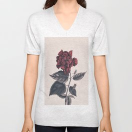 Flower near me 7 Unisex V-Neck