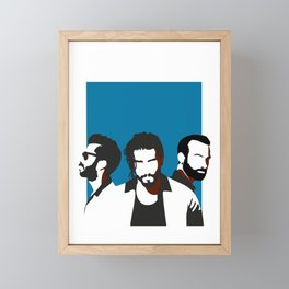 Greek MusicBand Melisses Framed Mini Art Print