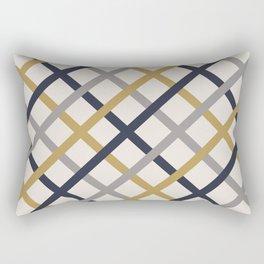 Double Tracery Rectangular Pillow