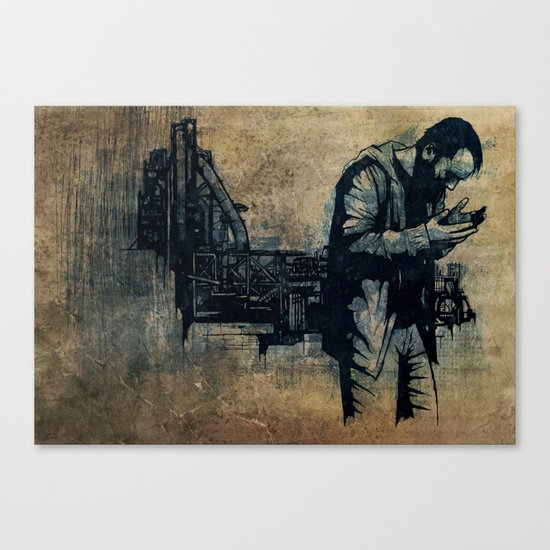 Ashes Canvas Print