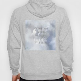 For death and mourning the color's WHITE. Shadowhunter Children's Rhyme. Hoody