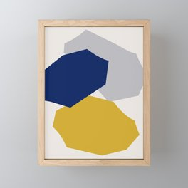Abstraction_SHAPES_003 Framed Mini Art Print