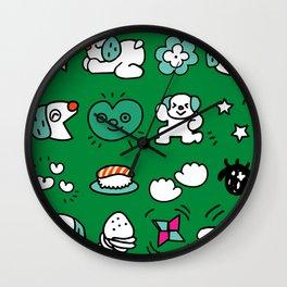 A dog's fun life! Shih Tzu Wall Clock