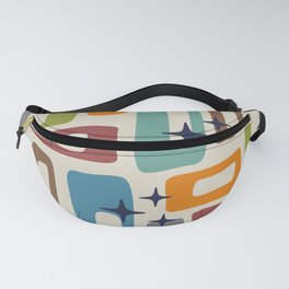 Retro Mid Century Modern Abstract Pattern 224 Fanny Pack