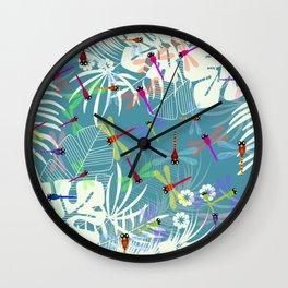 butterflys Wall Clock