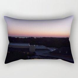 Sunset on the Atlantic coast Rectangular Pillow
