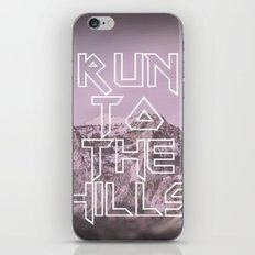Run To The Hills iPhone & iPod Skin