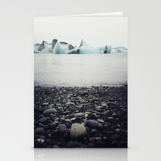 icebergs  Stationery Cards