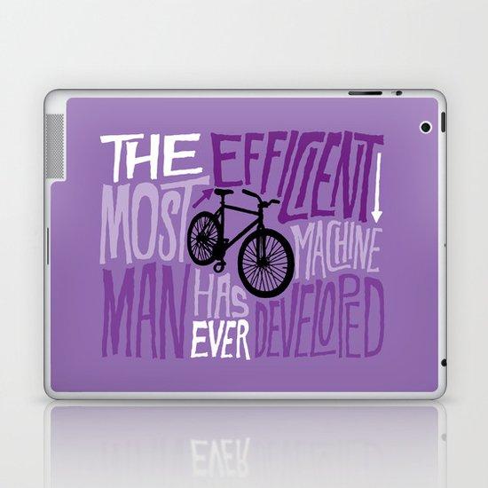 The Most Efficient Machine Laptop & iPad Skin
