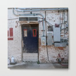 Meet me at the back Metal Print