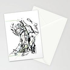 head and neck Stationery Cards