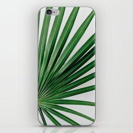 Palm Leaf Detail iPhone Skin