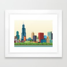 City Chicago Framed Art Print