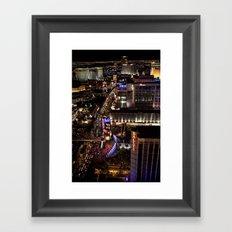 Vegas Strip Framed Art Print