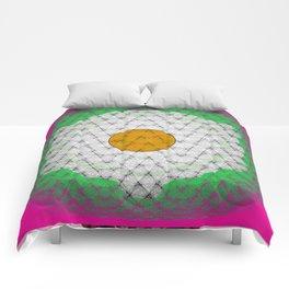 Huevo Frito Comforters