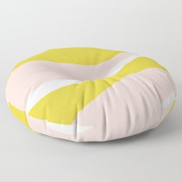 sierra mountain sunset Floor Pillow