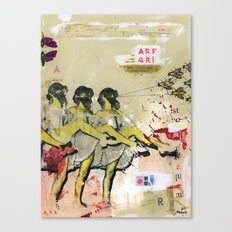 Killer bees Canvas Print