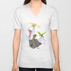 Fly Away Home Unisex V-Neck