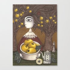 Portrait of an Apple Orchard Canvas Print