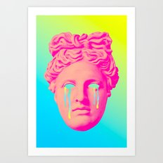 Cant Glimpse the Past Art Print