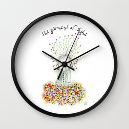 The Garment of Sighs Wall Clock