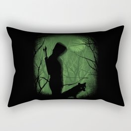 The Archer and the Fox. Rectangular Pillow