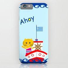 Greek Cat on Sail Slim Case iPhone 6s