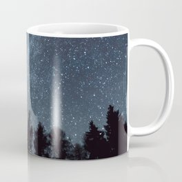 Milky Way in the Woods | Nature and Landscape Photography Coffee Mug