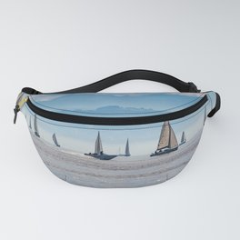Sailboats (Lake Constance, Germany) Fanny Pack
