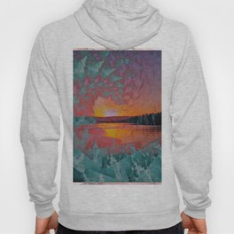 WAVE OVER SUNSET Hoody