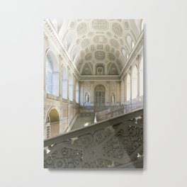 Royal castle of Naples Metal Print