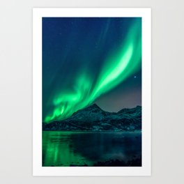 Aurora Borealis (Northern Lights) Art Print