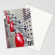 Diner Stools Stationery Cards