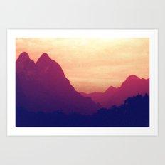 Mountain Twins Art Print