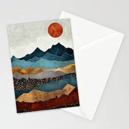 Amber Dusk Stationery Cards