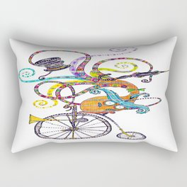 Topsy Turvy Toff Rectangular Pillow