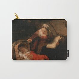 Holy Family with Angels Carry-All Pouch