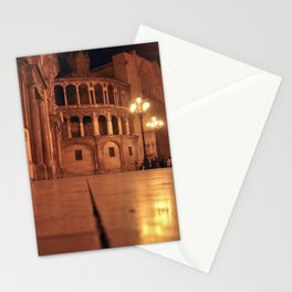 REAL BASILICA in VALENCIA Stationery Cards